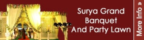 SURYA GRAND BANQUET AND PARTY LAWN