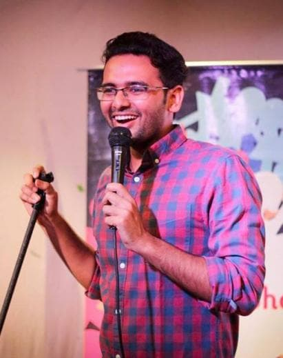 Simple Exhibition Stand Up Comedy : Kautuk srivastava comedy artists entertainment