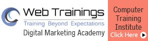 Web Trainings Digital Marketing Academy