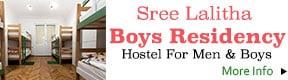 Sree Lalitha Boys Residency