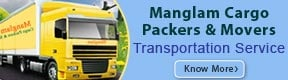 Manglam Cargo Packers & Movers