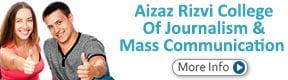 Aizaz Rizvi College Of Journalism & Mass Communication