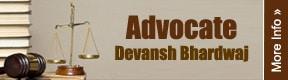 Advocate Devansh Bhardwaj