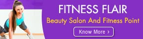 FITNESS FLAIR BEAUTY SALON AND FITNESS POINT