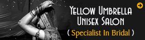 YELLOW UMBRELLA UNISEX SALON