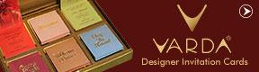 Varda Designer Invitation Cards