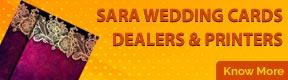 SARA WEDDING CARDS DEALERS & PRINTERS