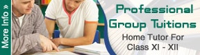 Professional Group Tutions