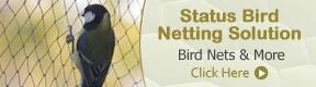 STATUS BIRD NETTING SOLUTION