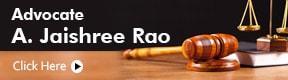 Advocate A Jaishree Rao