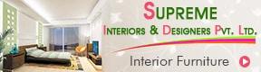 SUPREME INTERIORS AND DESIGNERS PVT LTD