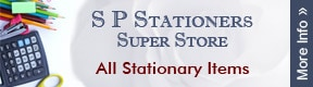 S P STATIONERS SUPER STORE