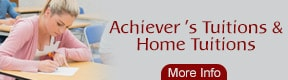 ACHIEVERS TUITIONS & HOME TUITIONS
