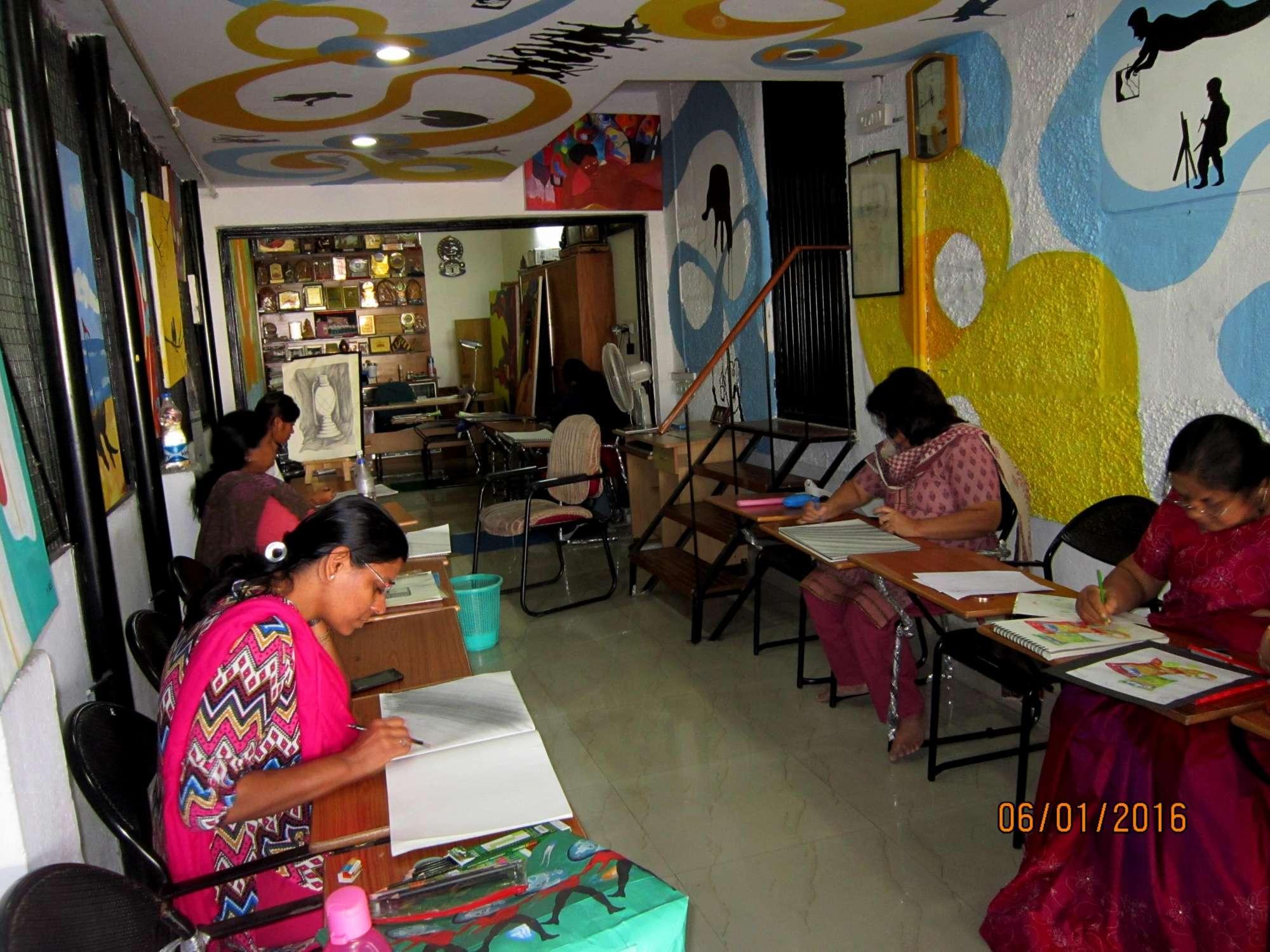 Drawing classes lingarajapuram bangalore