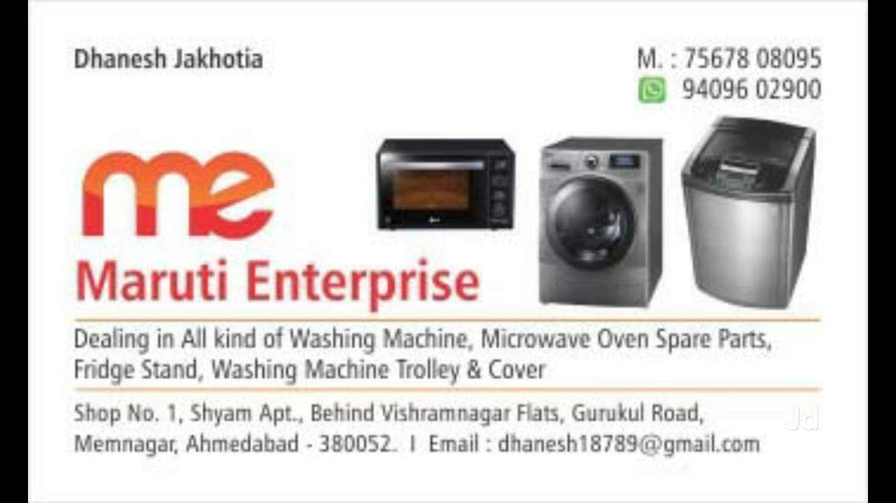 Whirlpool Washing Machine Part Dealers Ahmedabad