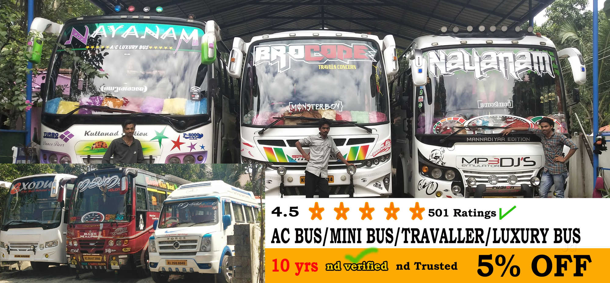 Top 50 Bus Services in Alappuzha - Best Charter Bus Services - Justdial