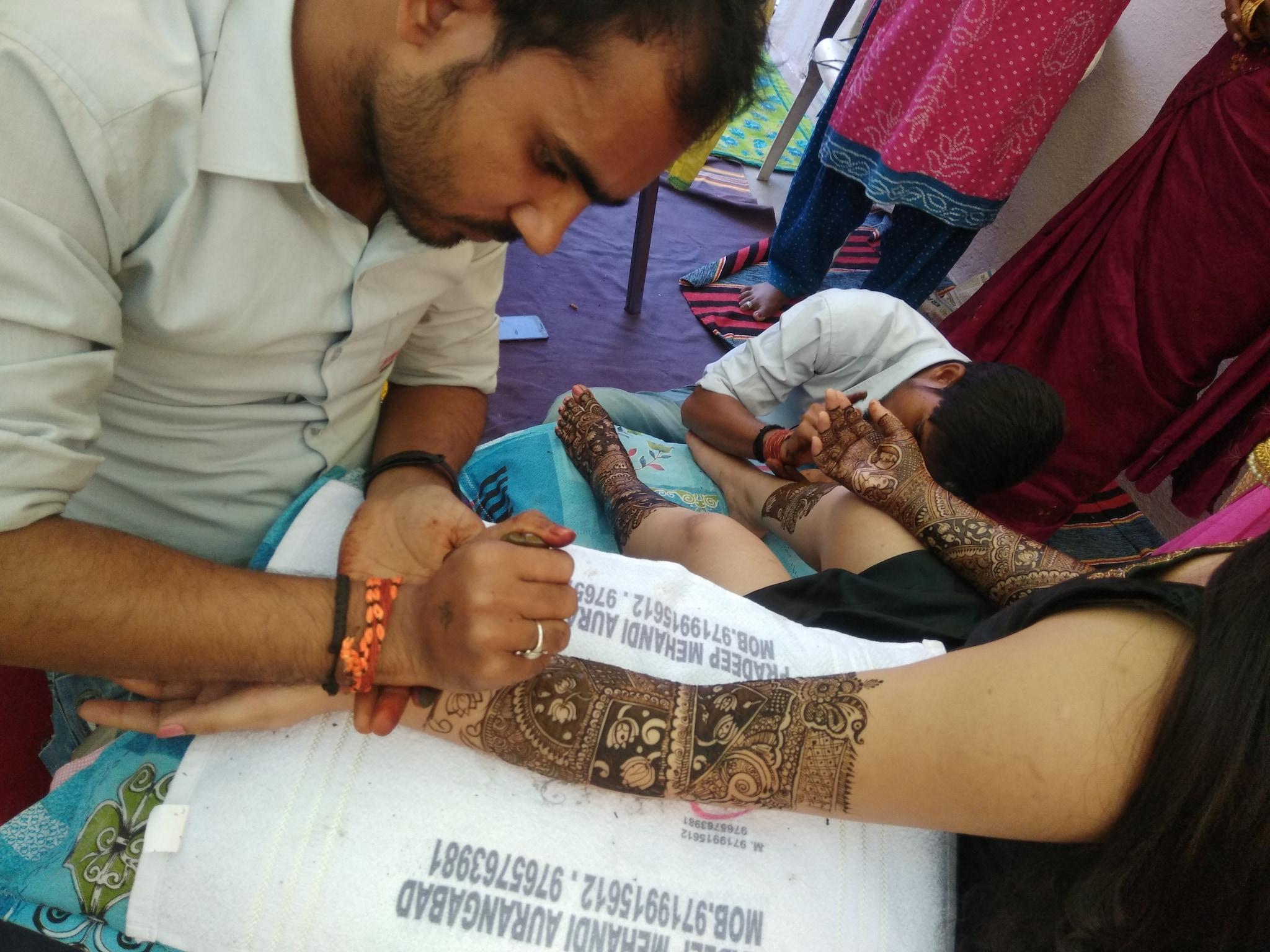 Top 50 Mehendi Designers in Aurangabad-Maharashtra - Best Mehandi