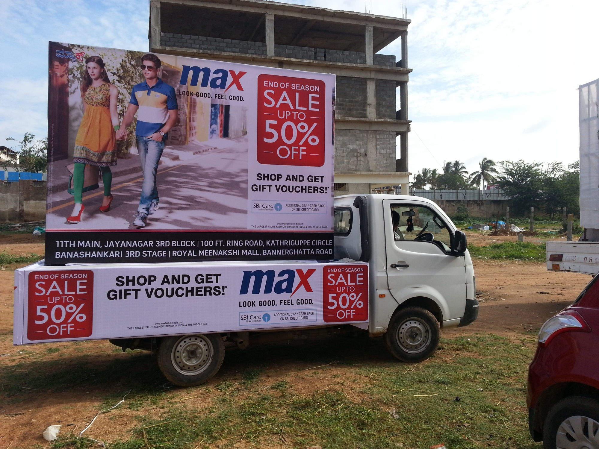 Top 100 Mobile Van Advertising Agencies in Bangalore - Best