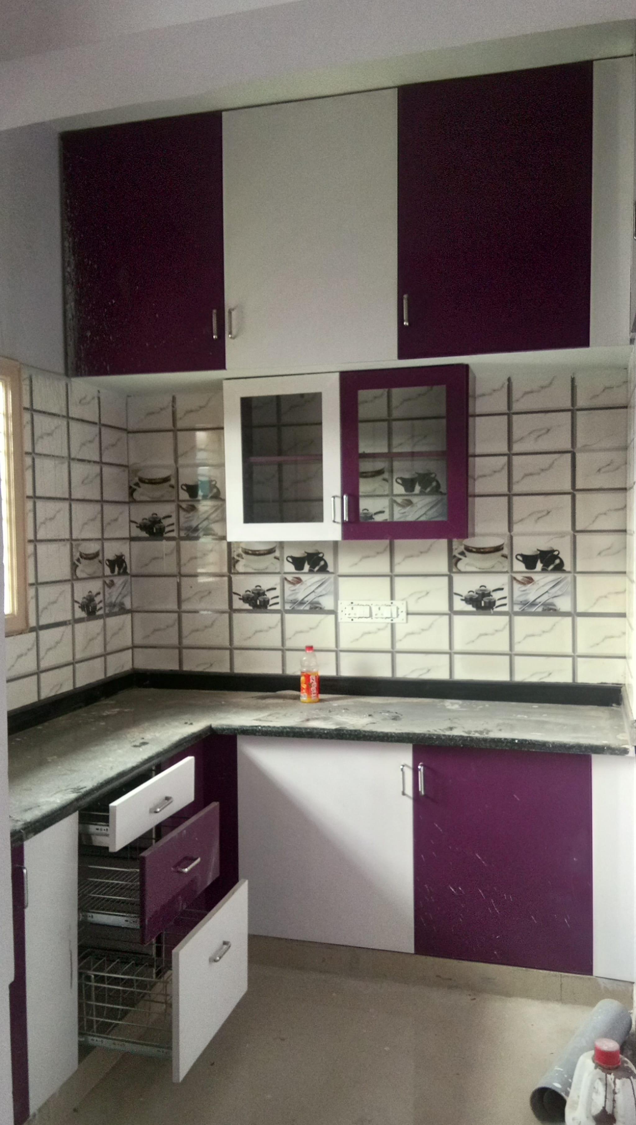 Mithra Pvc Modular Kitchen Cabinets & Interior Design, Near ...