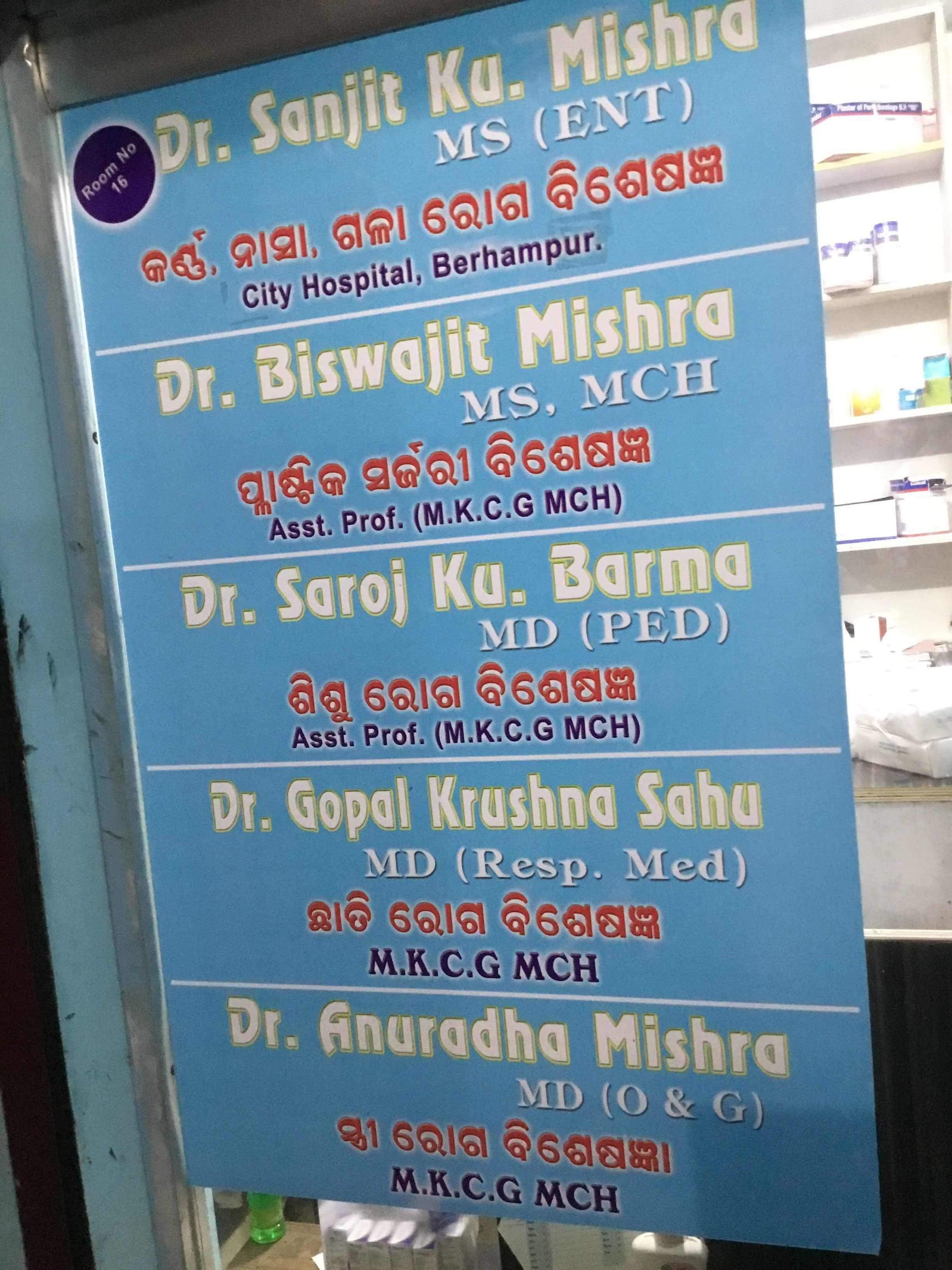 Top 10 Psychiatrists in Goilundi, Berhampur-Orrisa - Best