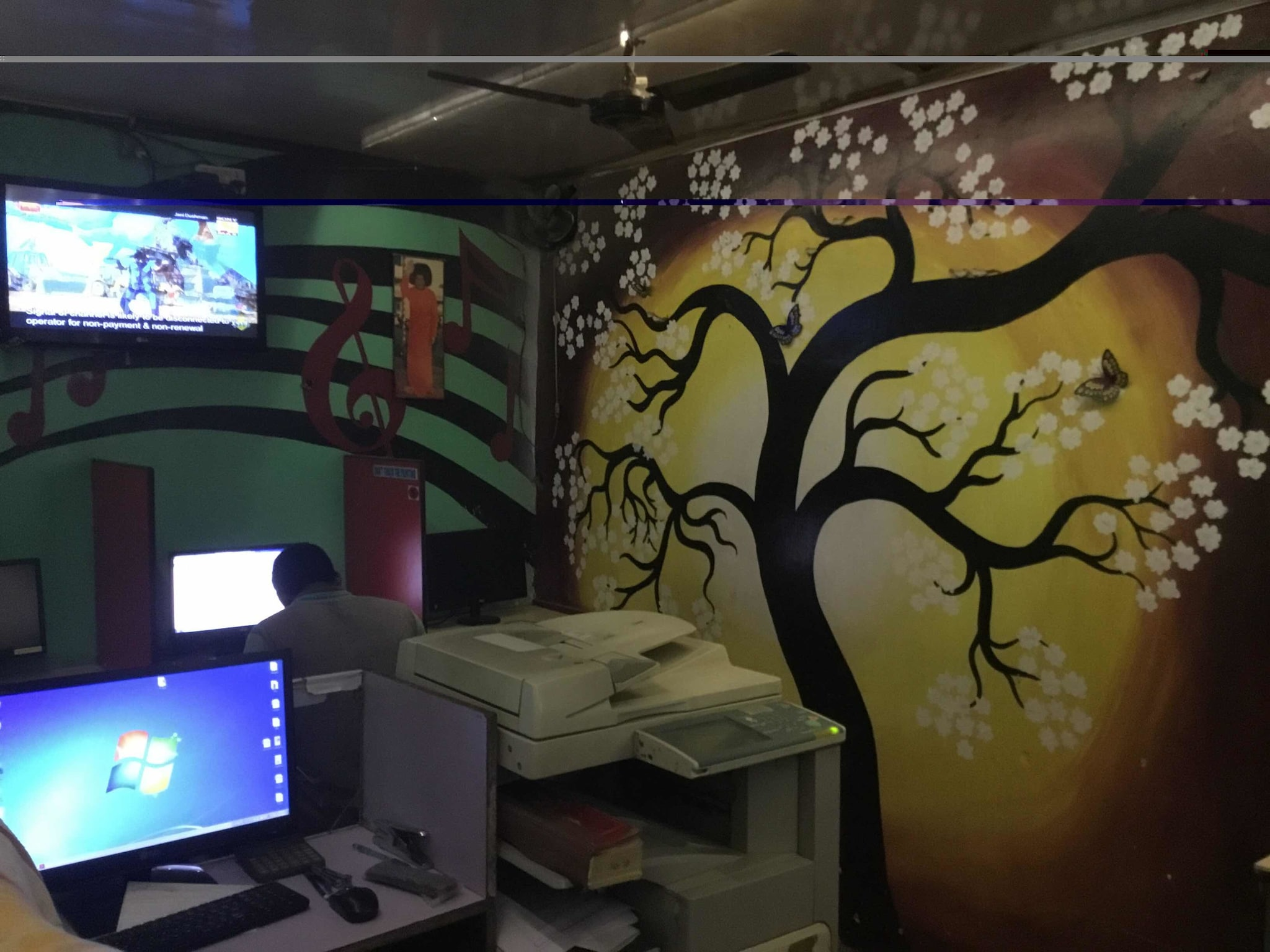 Cyber cafe near surat railway station