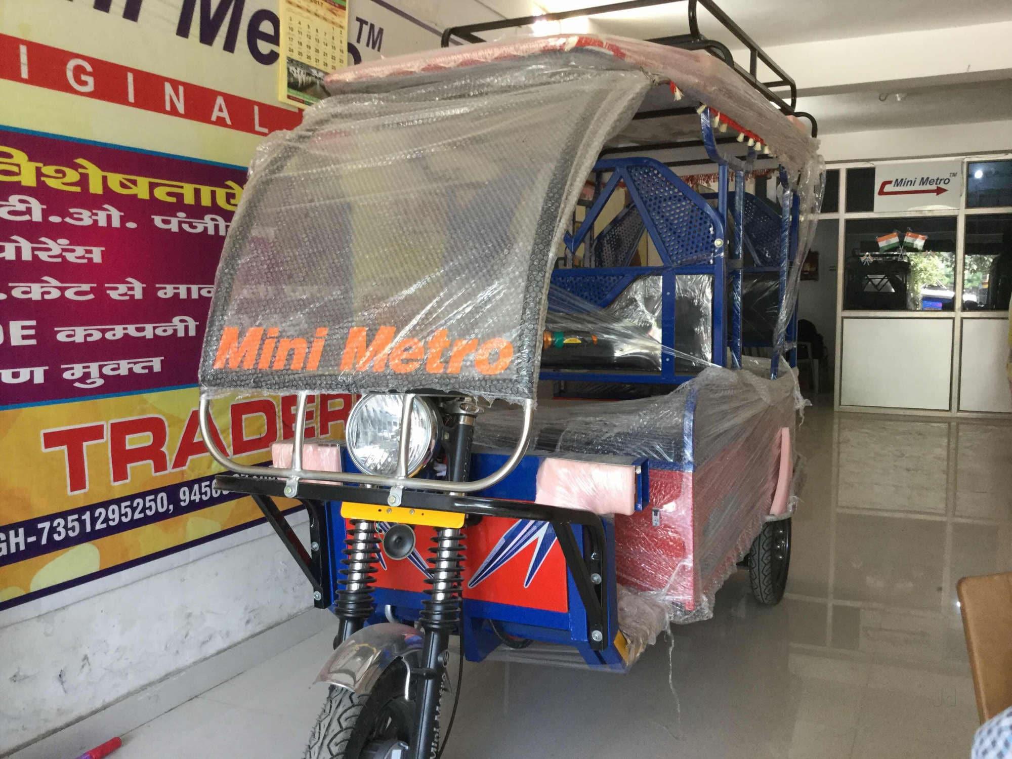 Top Mini Metro Battery Operated Auto Rickshaw Dealers In Bijnor