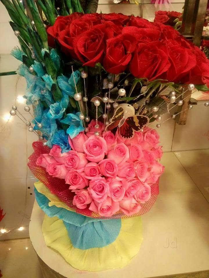 Big Basket Flowers Naya Gaon Flower Decorators In