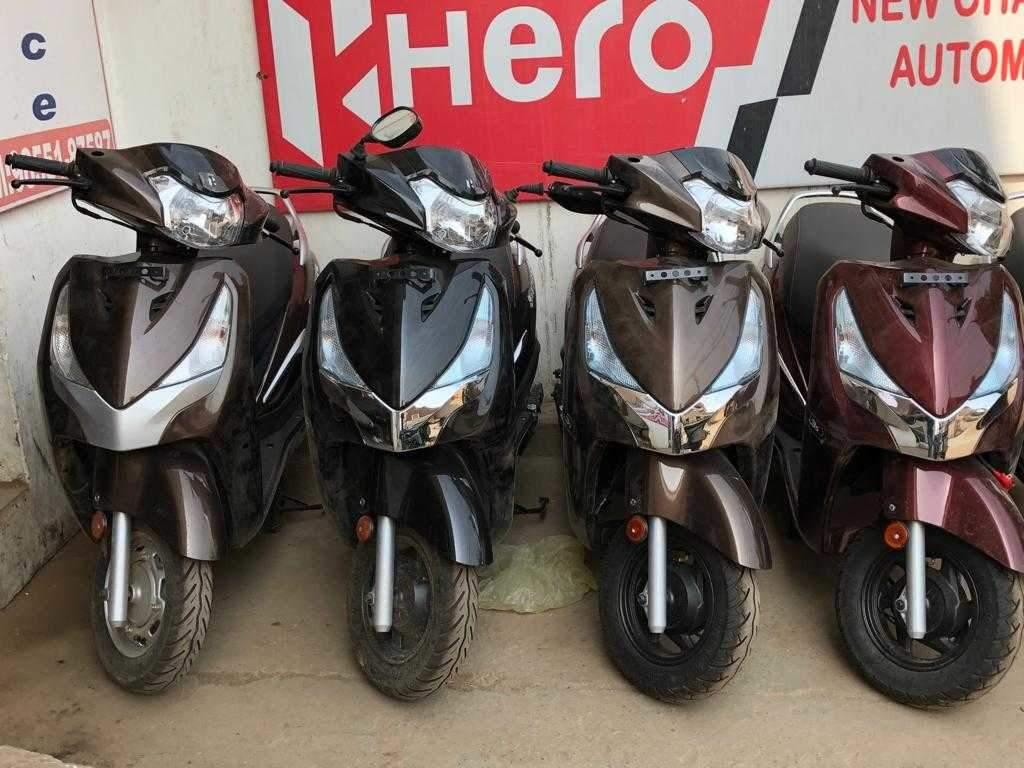 Top Hero Maestro Edge Scooter Dealers In Chandigarh Best