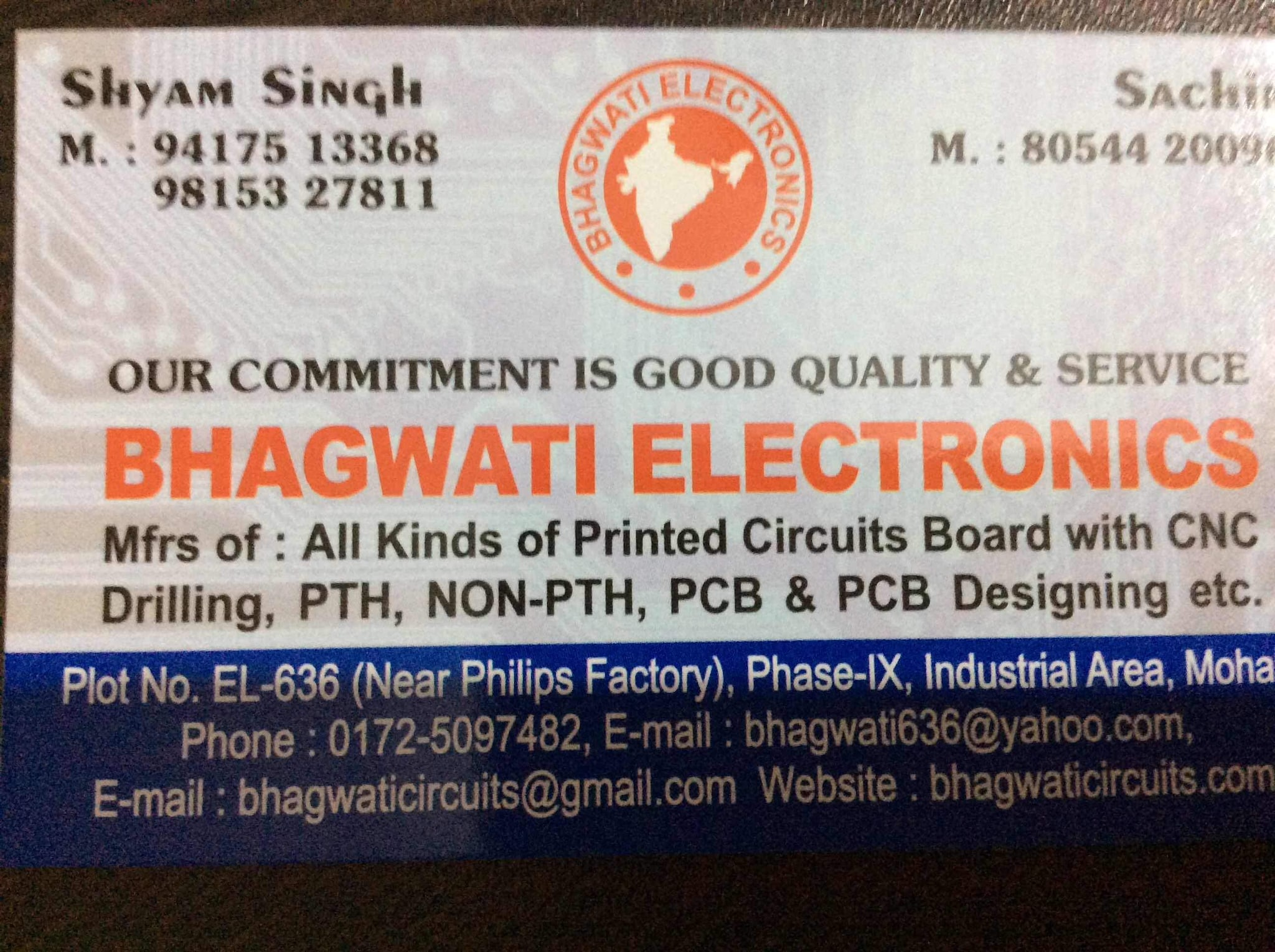 Top Double Sided Printed Circuit Board Dealers In Industrial Area Doublesided Pcb Boards Phase 9 Chandigarh
