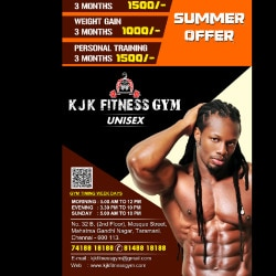 Kjk Fitness Gym, Tharamani - Gyms in Chennai - Justdial
