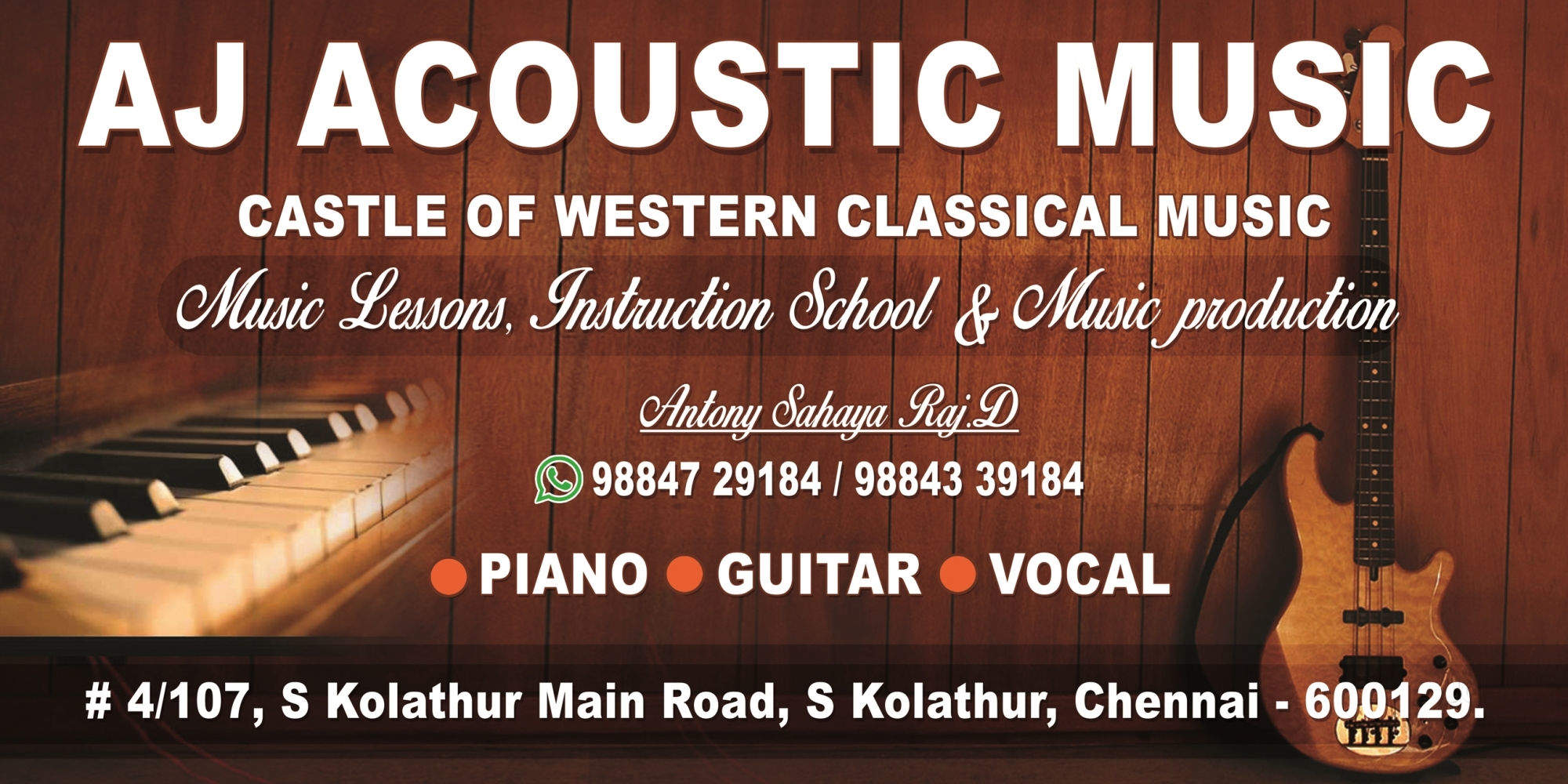 Top 10 Online Classical Music Classes in S Kolathur - Best