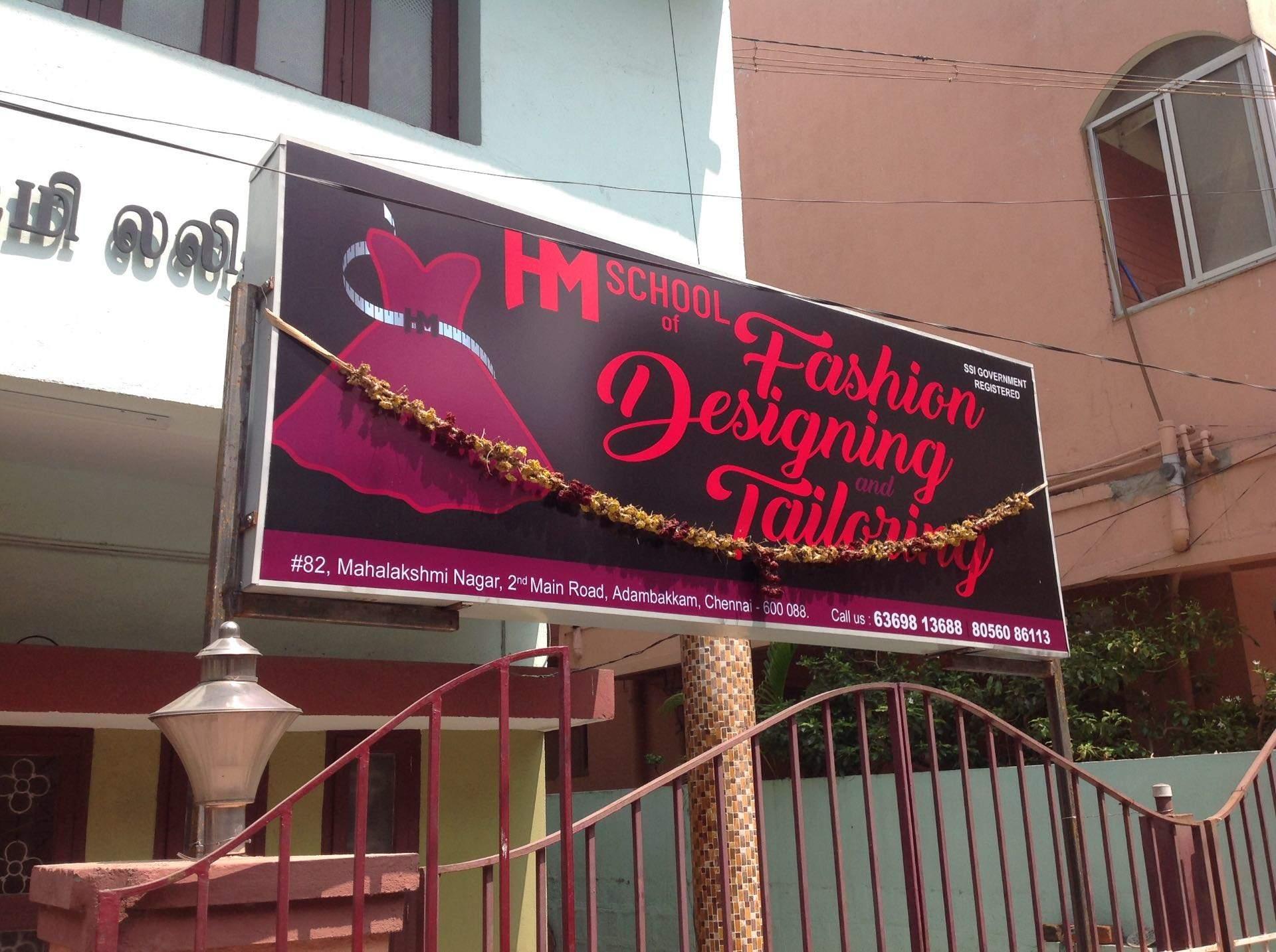 Hm School Of Fashion Designing Tailoring Adambakkam Tailoring Classes In Chennai Justdial