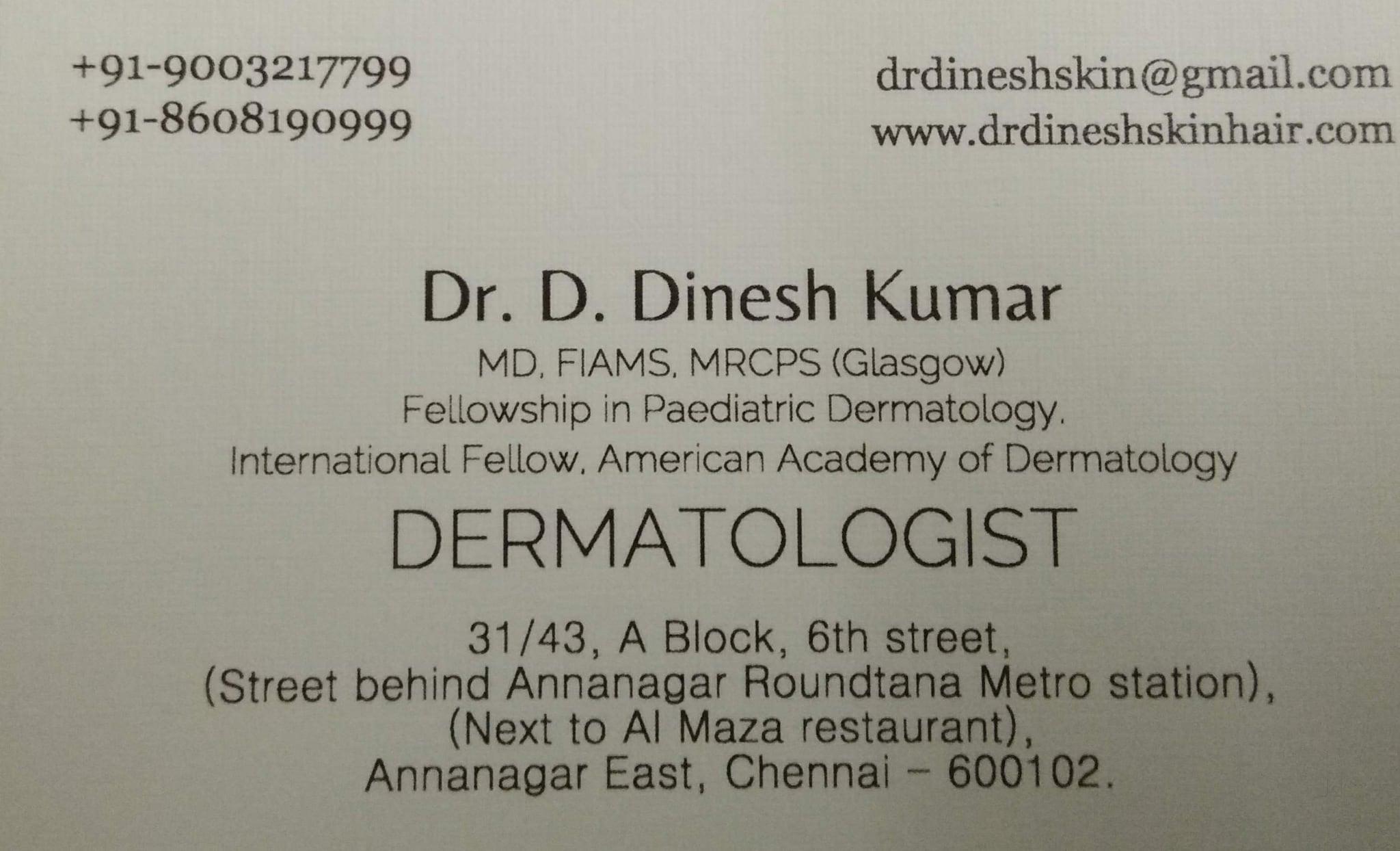 Top Paediatric Dermatologist in Anna Nagar East, Chennai