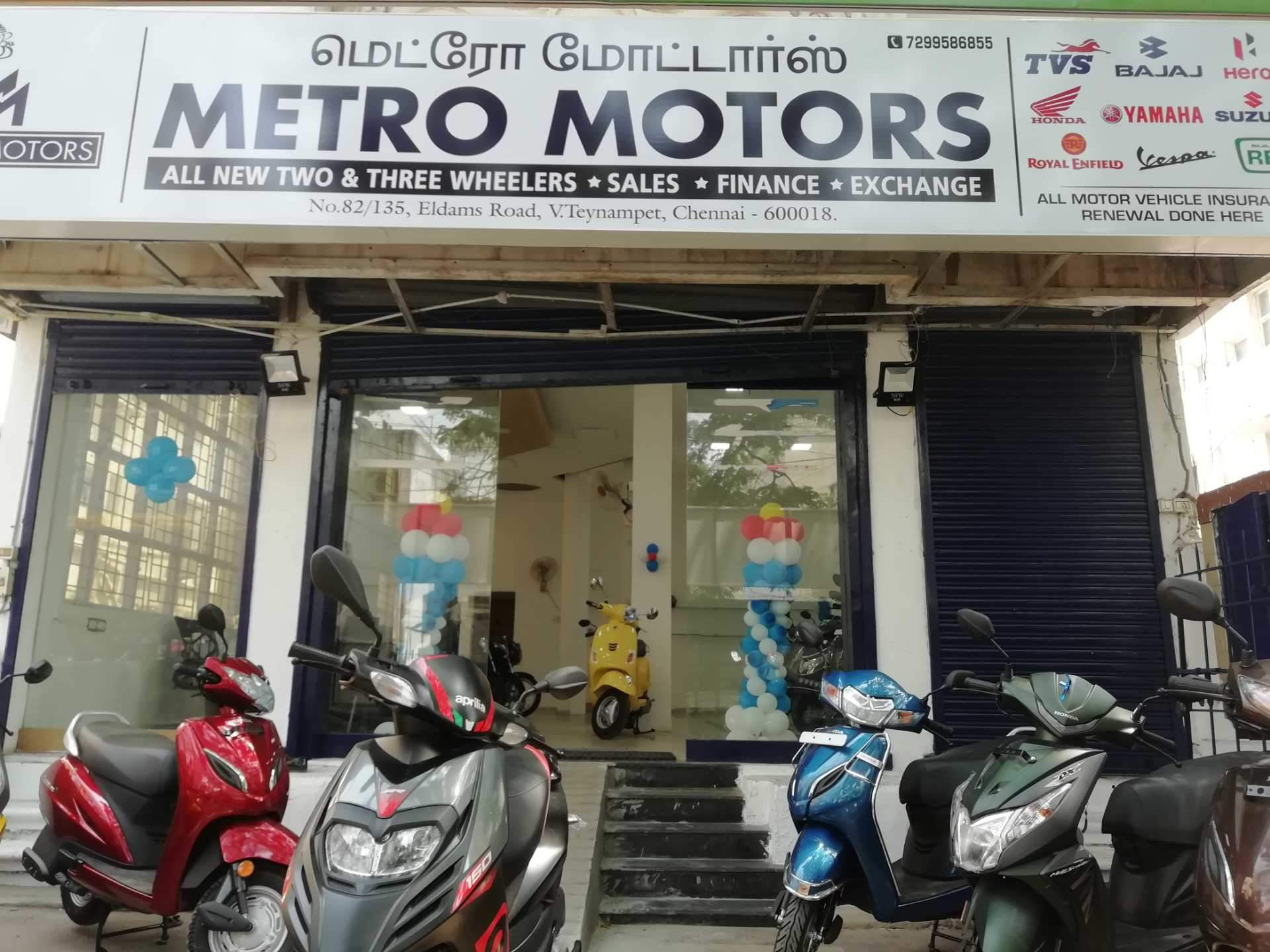 Top Yamaha Motorcycle Showrooms in Vadapalani, Chennai - Yamaha