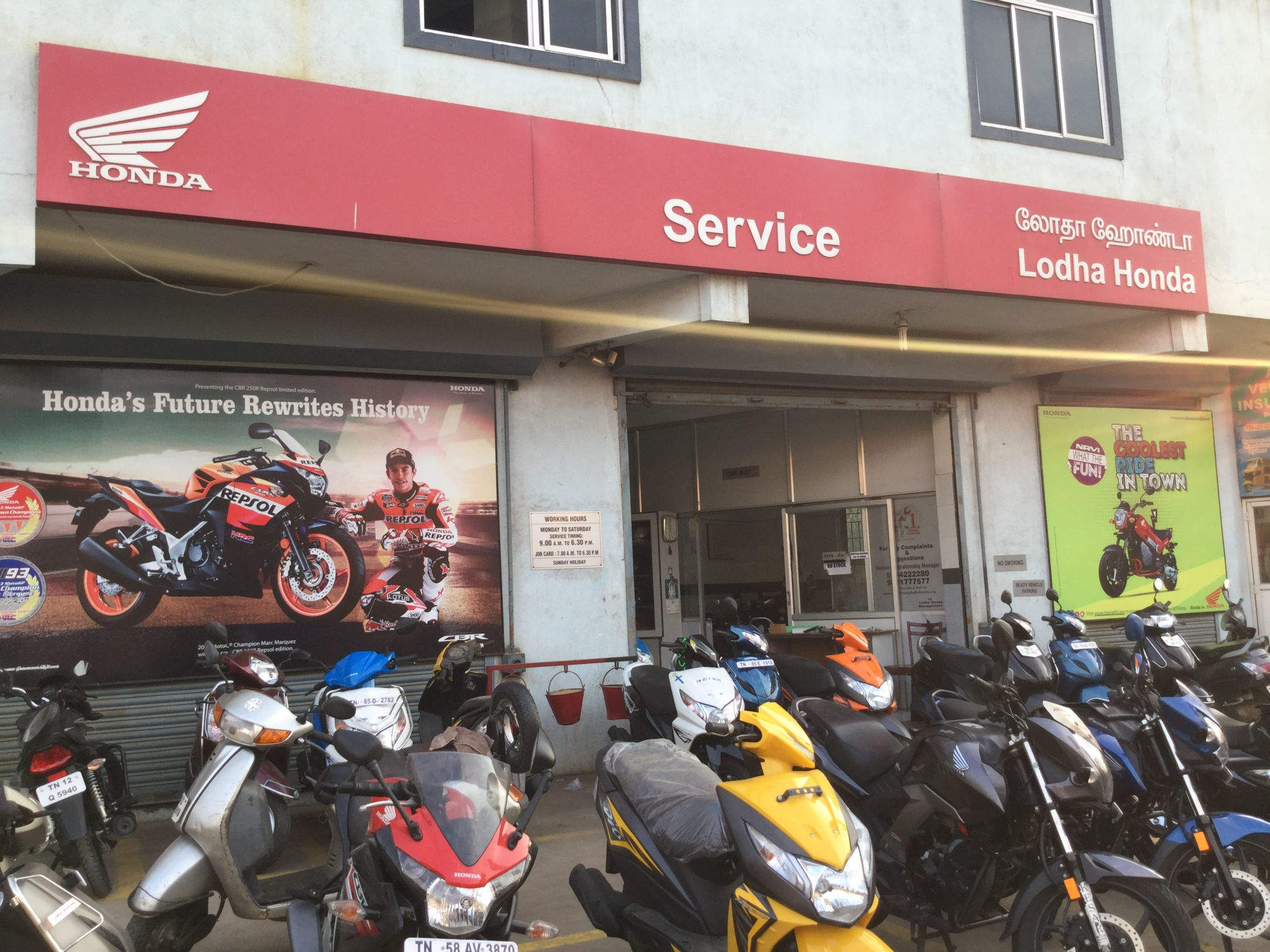 Honda Activa Scooter Repair Services In Chennai Two Wheeler