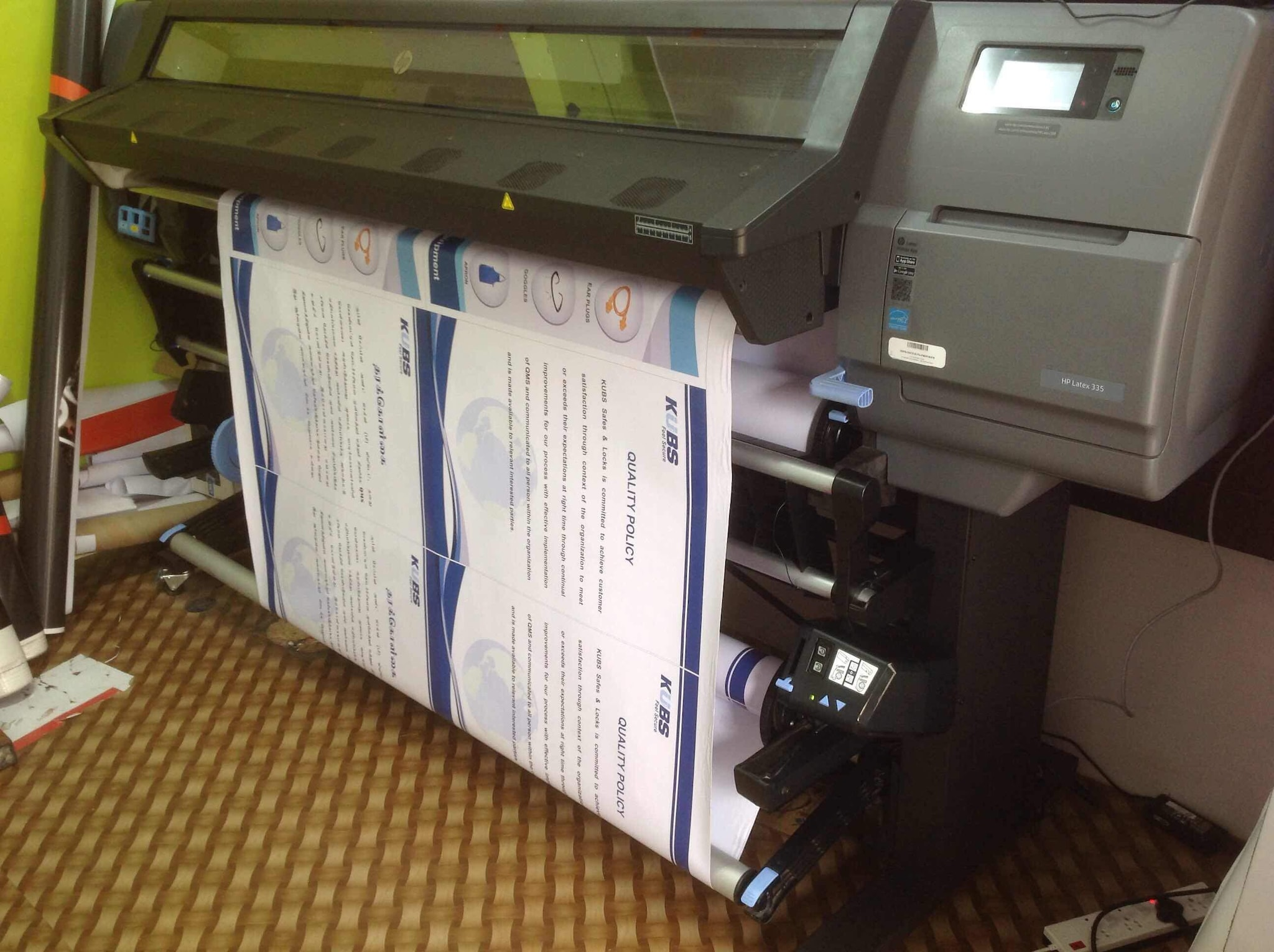 Vinyl sticker printing services chennai