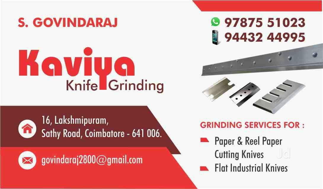 Top Knife Sharpening Services in Coimbatore - Best Chakku