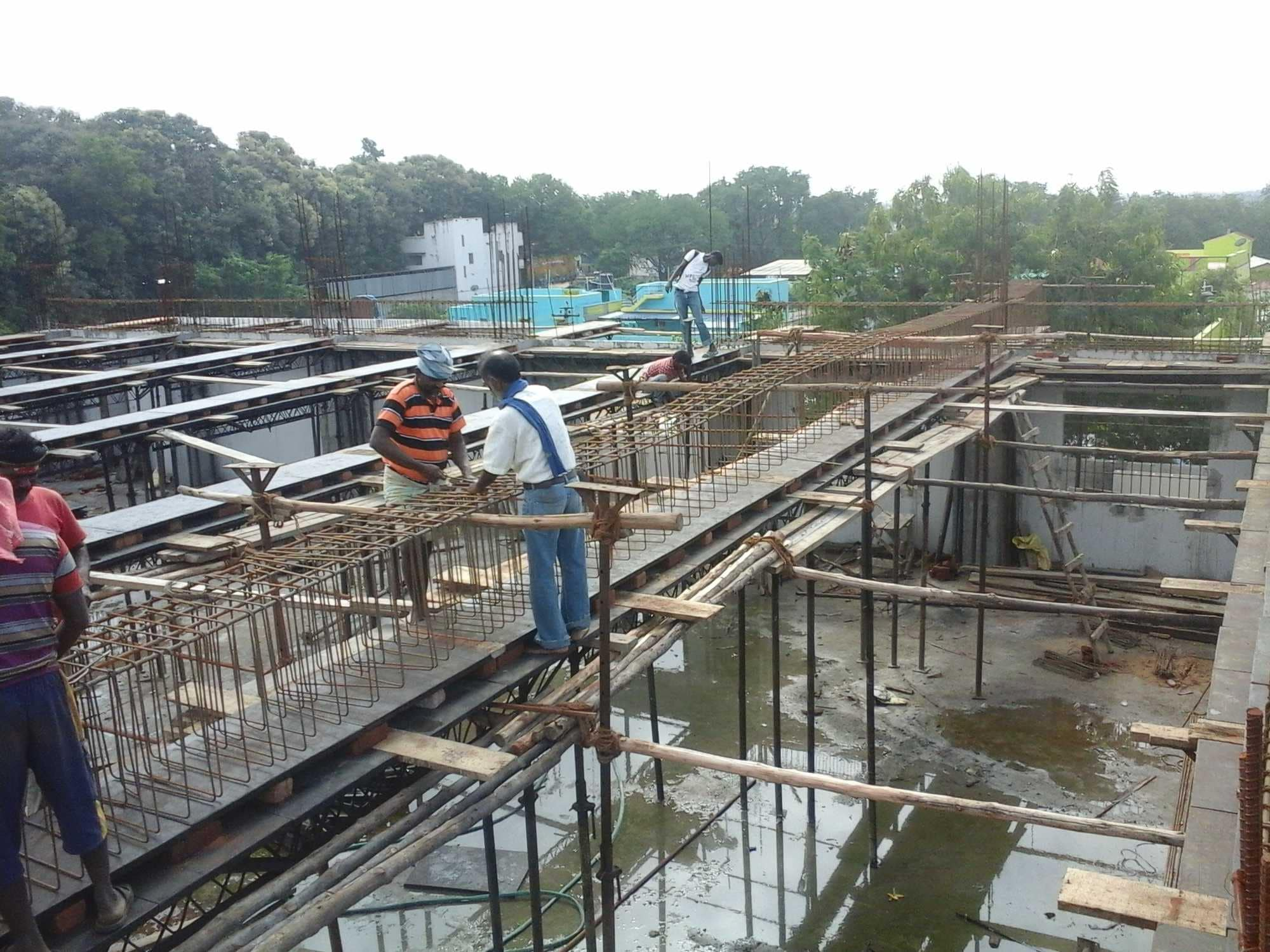 Top Construction Contractors For Concrete Water Tank in