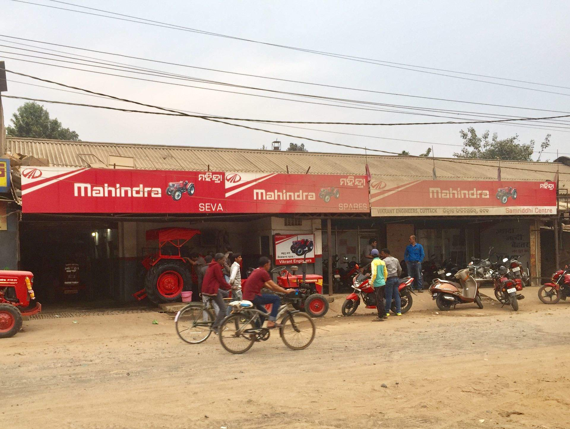 Top Mahindra Tractor Dealers in Cuttack - Best Mahindra