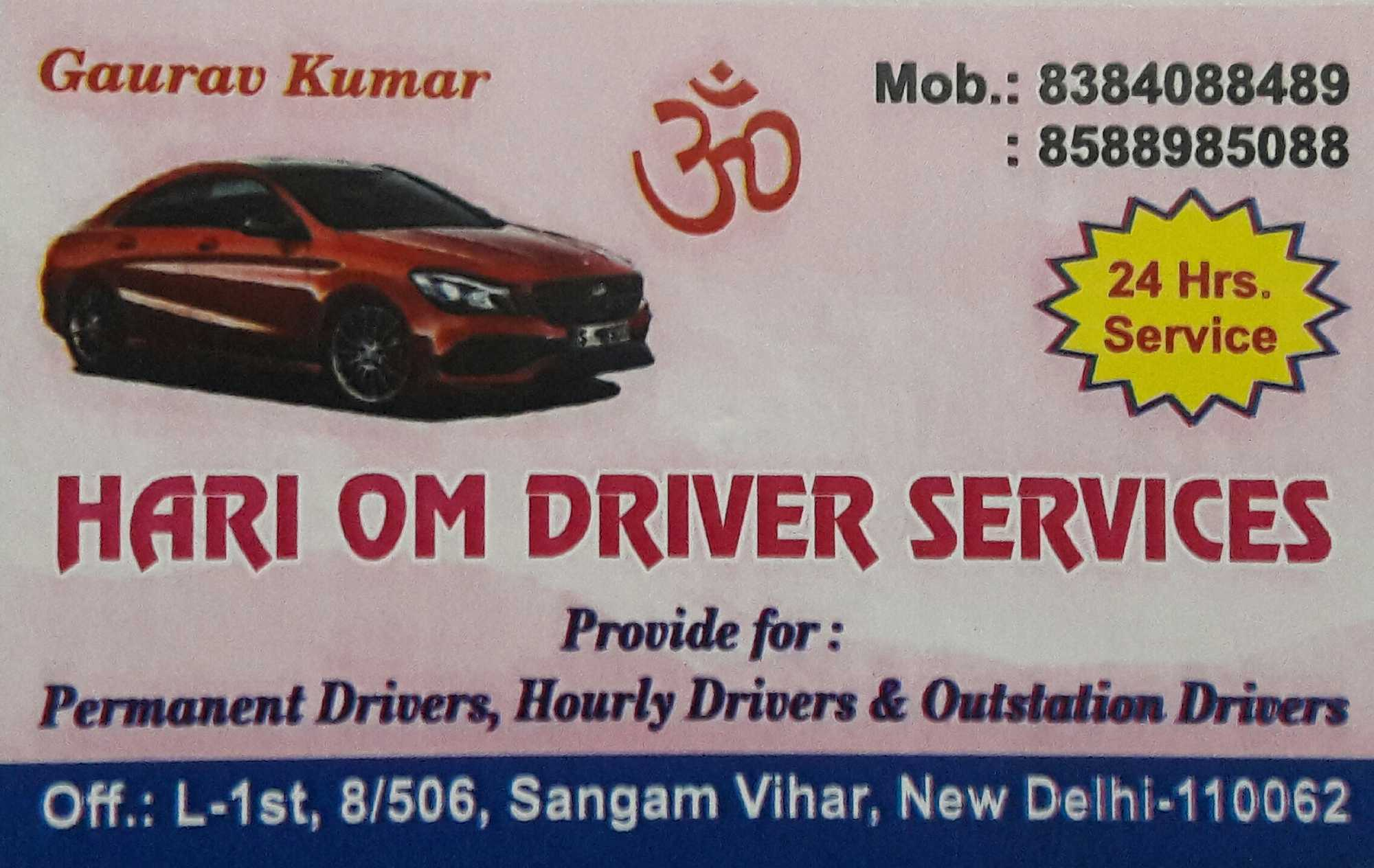 Top 100 24 Hours Driver Service Agents In Delhi Best Driver