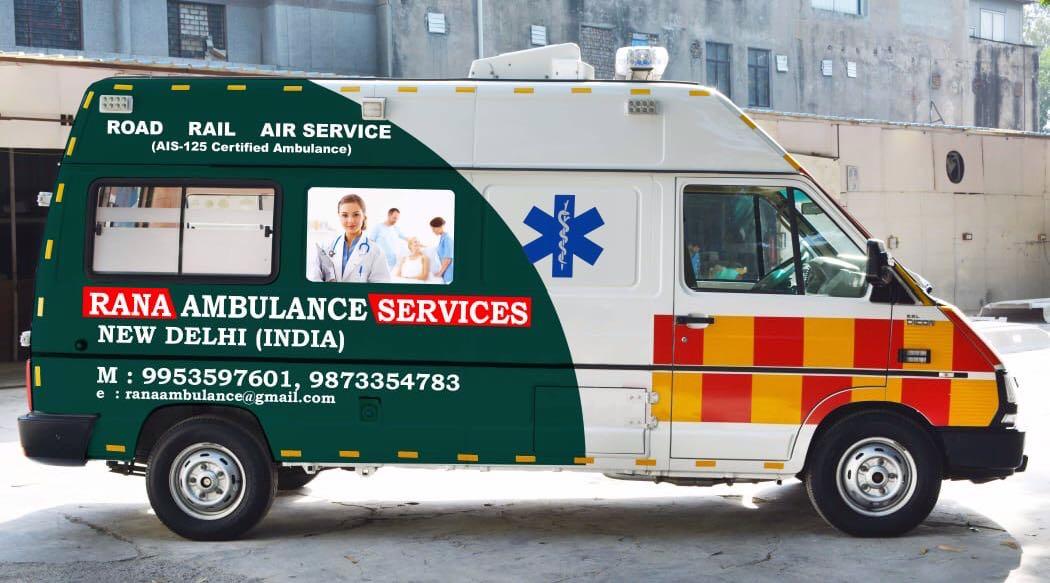 Top Ambulance Services in Uttam Nagar - Best AC Ambulance Services