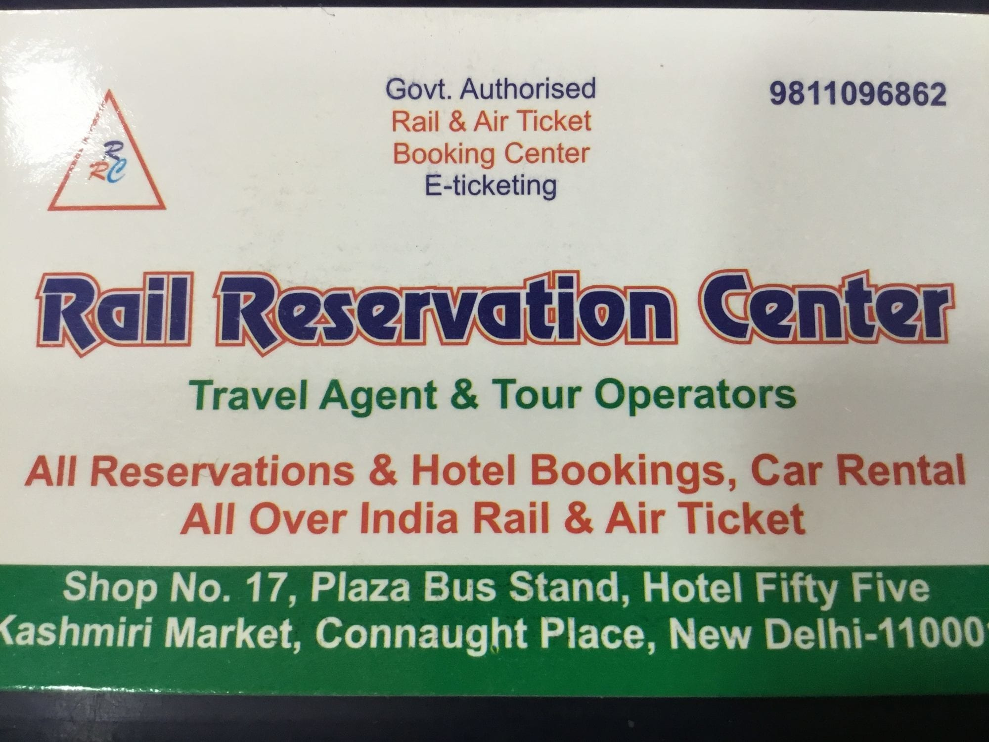 Travel Agent In Rohini Sector