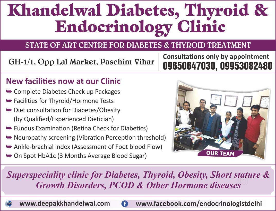 Top Endocrinologists in Punjabi Bagh, Delhi - Best Thyroid
