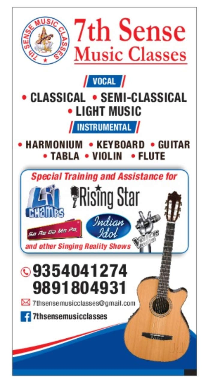 Top 30 Music Classes For Folk Song in Dwarka, Delhi - Justdial