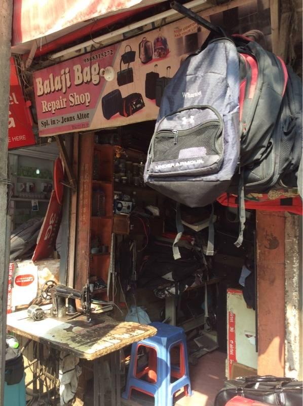 Balaji Bag Repair Shop, Malviya Nagar
