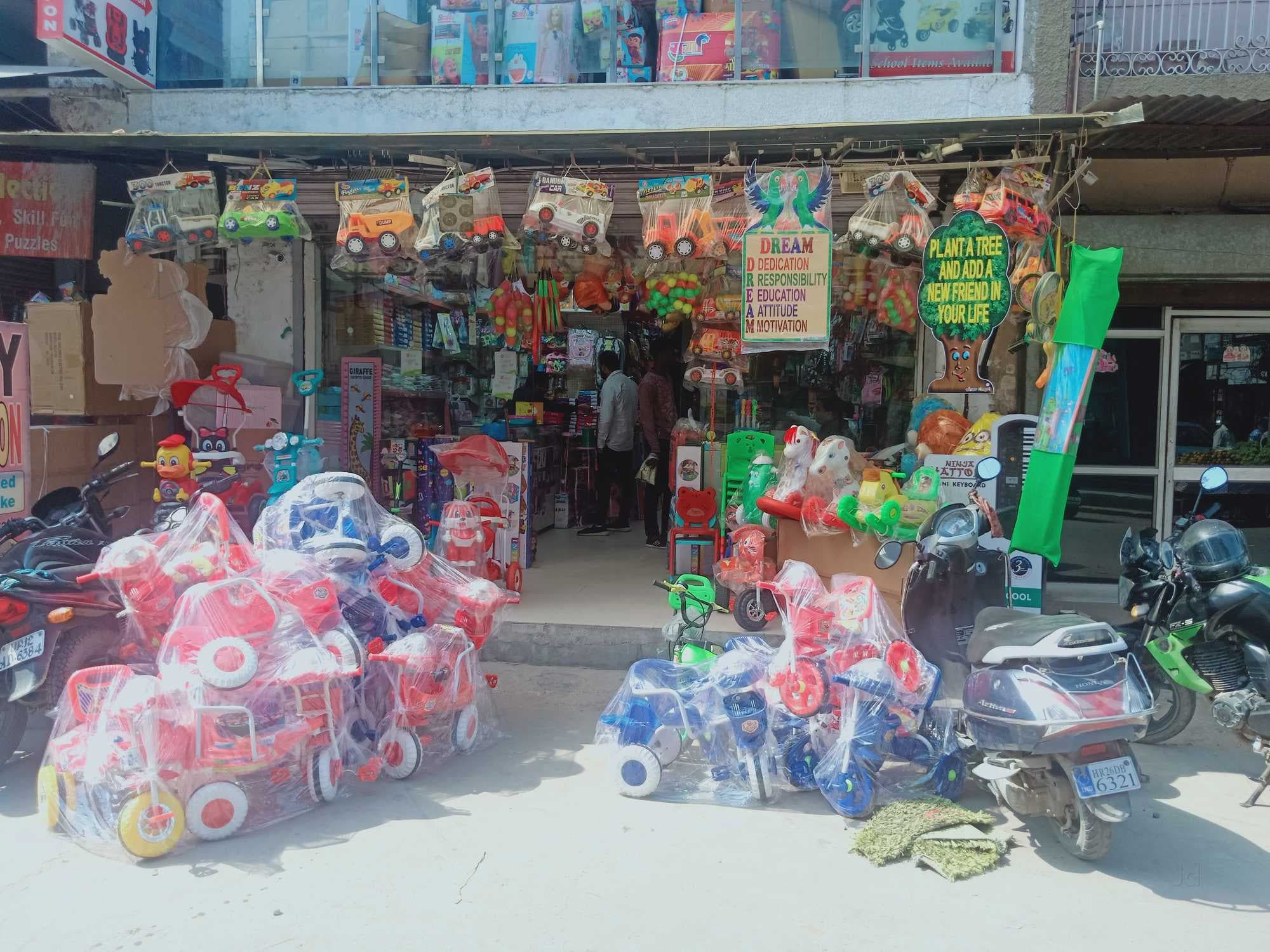 Toy Shops in Sadar Bazar, Delhi