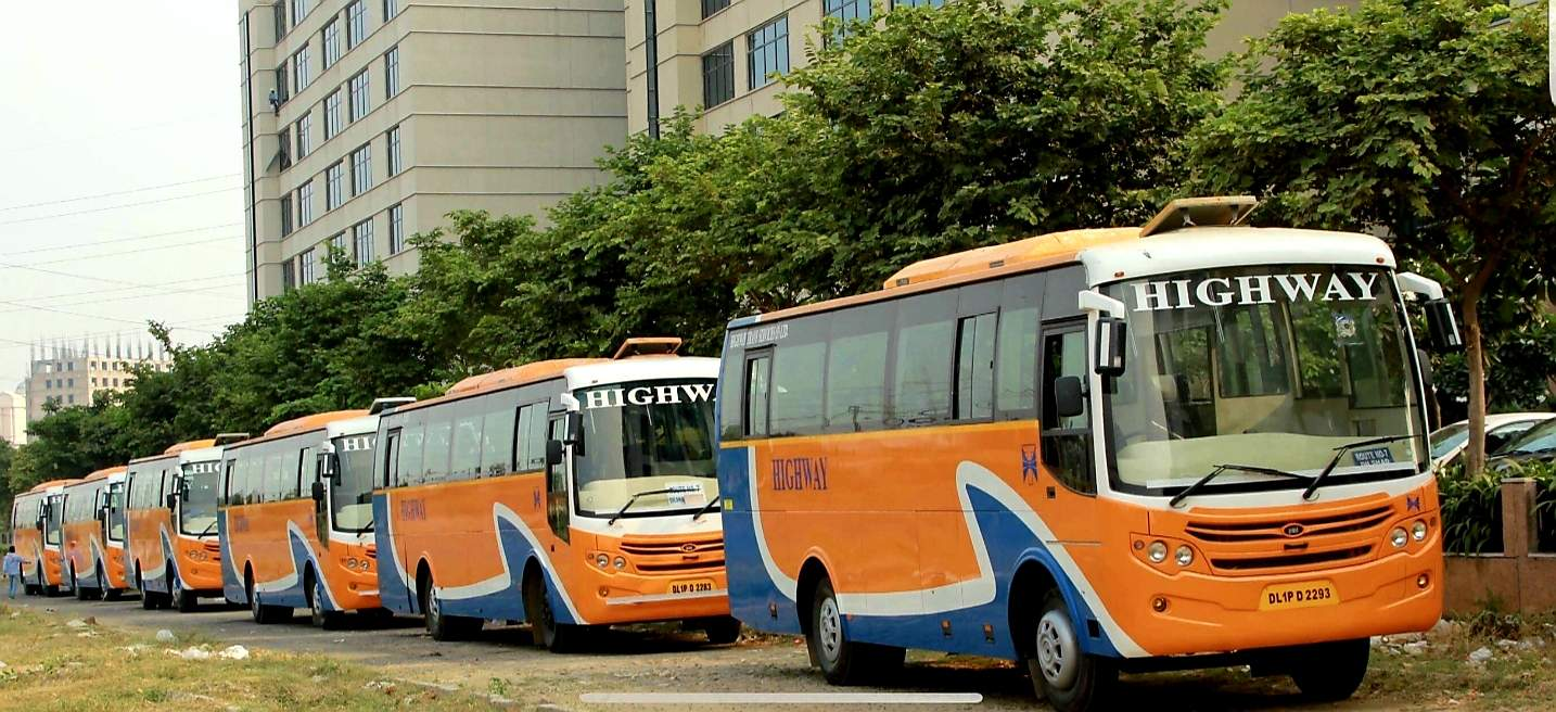 Top 100 Bus On Hire in Delhi - Best Bus Rental Services