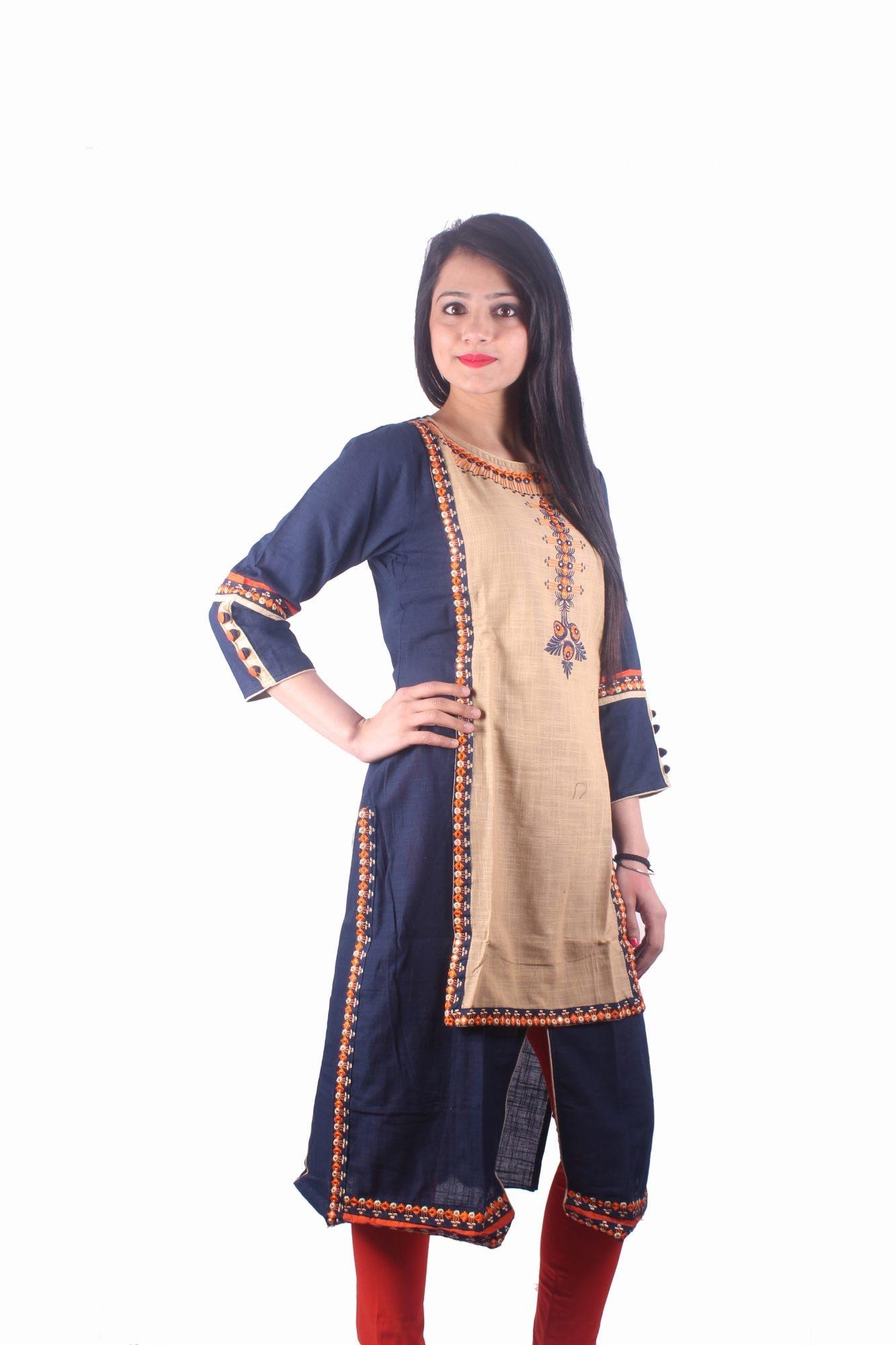 09e1acf4ed Top 100 Designer Women Kurti Wholesalers in Gandhi Nagar - Best ...