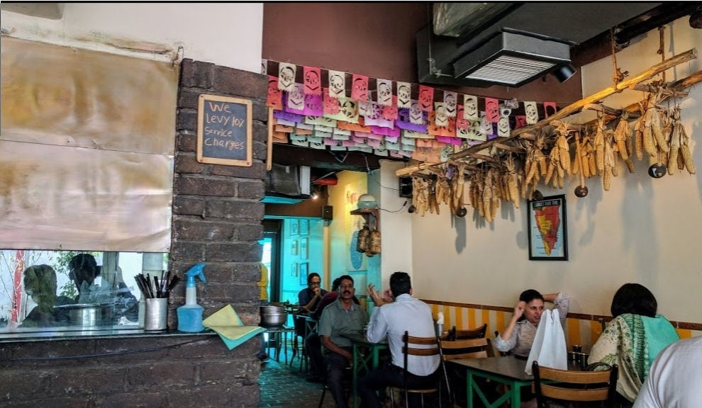 Image result for Carnatic Cafe, New Friends Colony