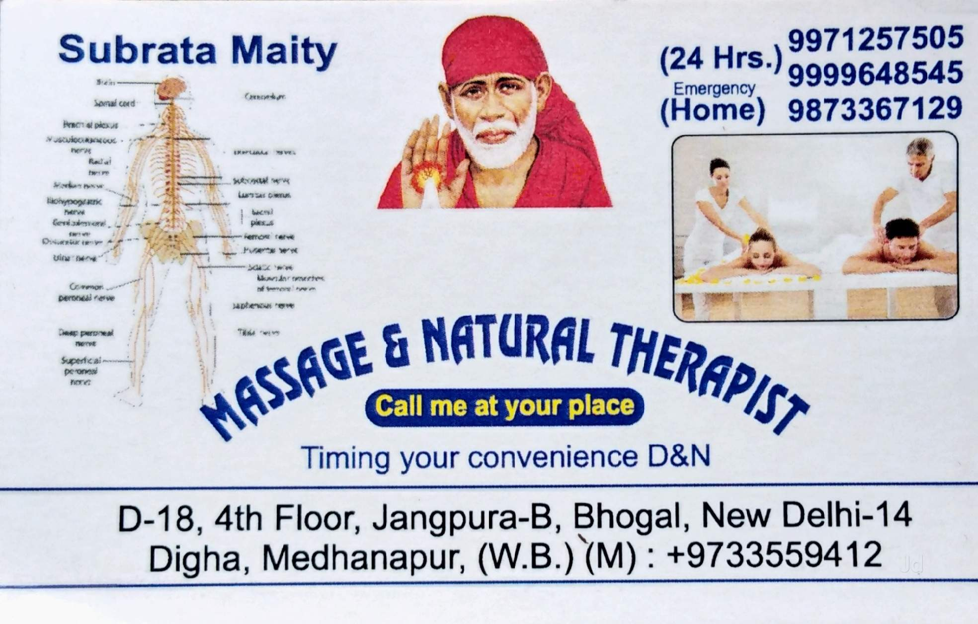 Top 50 Reflexology Therapists in Delhi - Book Appointment